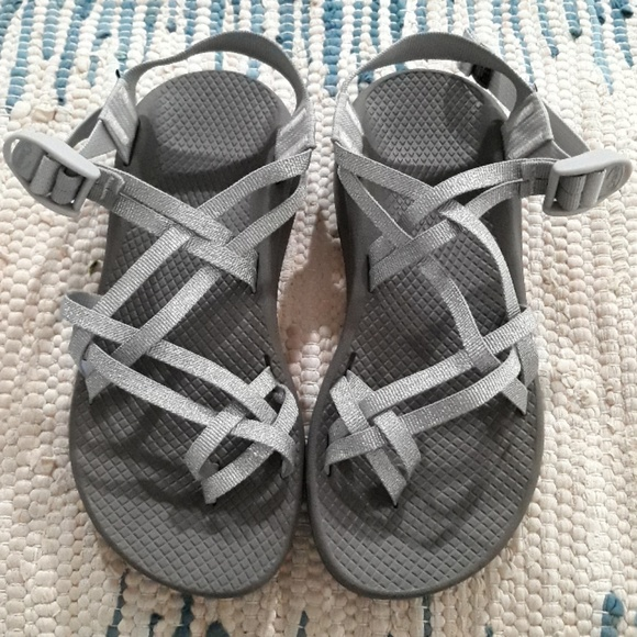 Chaco Zcloud X2 Sandals Metallic Silver